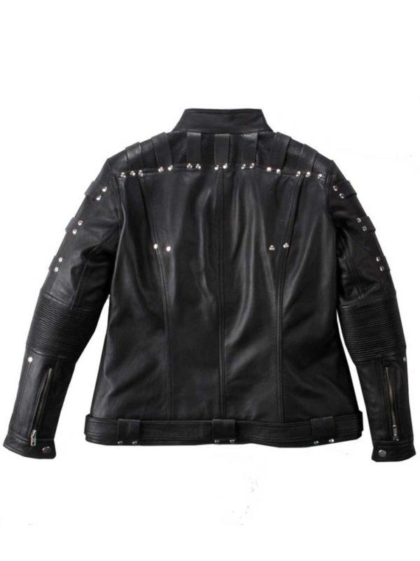 black-canary-leather-jacket