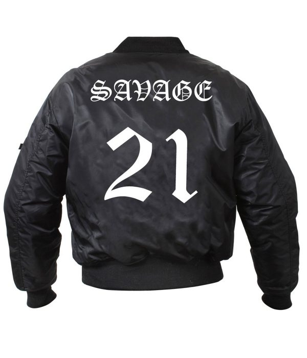 21-savage-bomber-black-jacket-