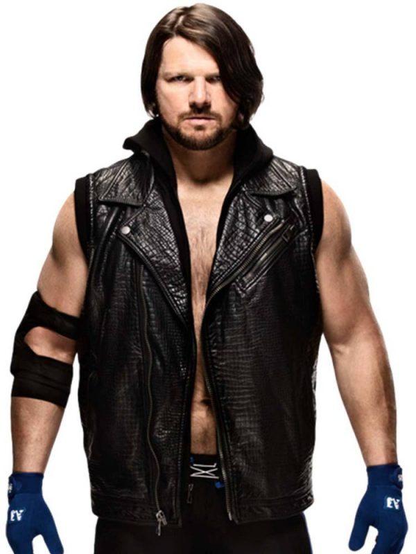 aj-styles-black-leather-vest