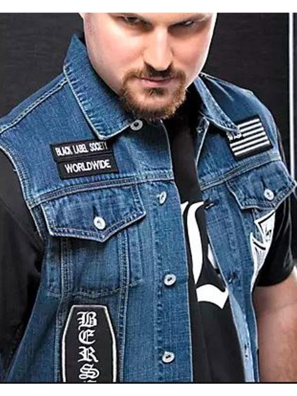 black-label-society-blue-vest
