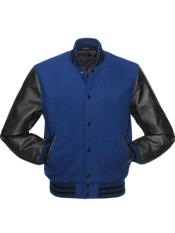 blue-and-black-jacket