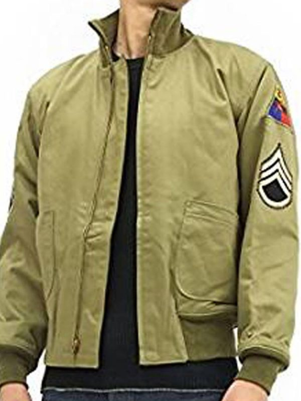 brad-pitt-fury-green-jacket