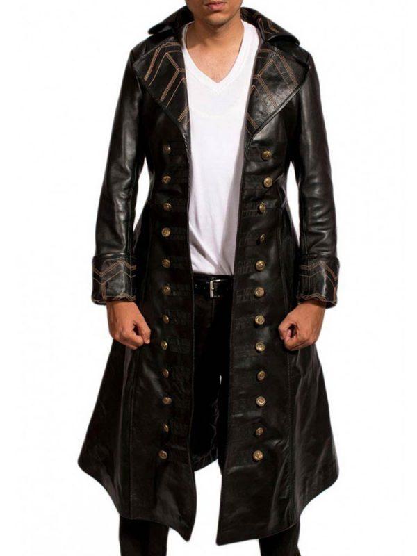 captain-hook-black-leather-coat