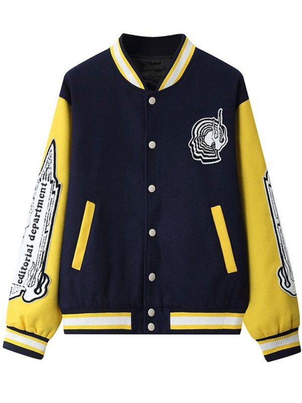 editorial-department-blue-varsity-jacket