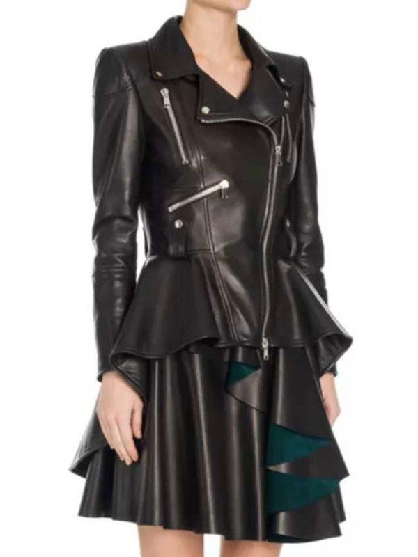 eliza-taylor-leather-jacket