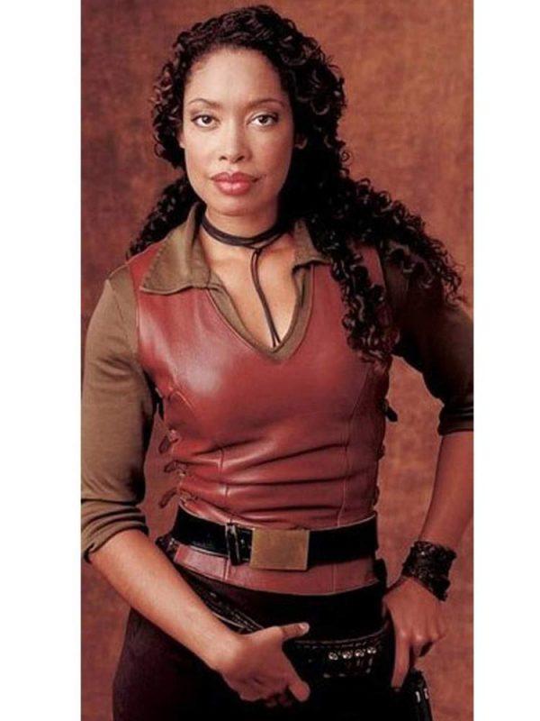gina-torres-leather-vest