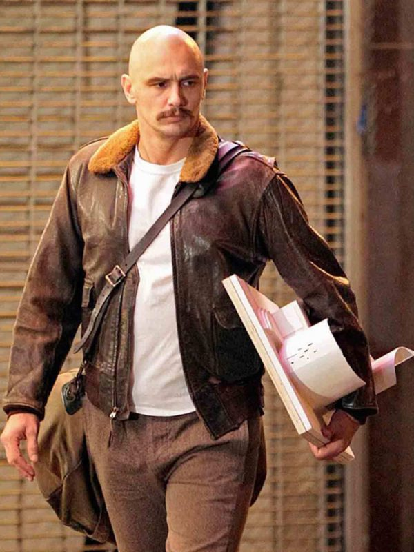 james-franco-zeroville-brown-leather-jacket