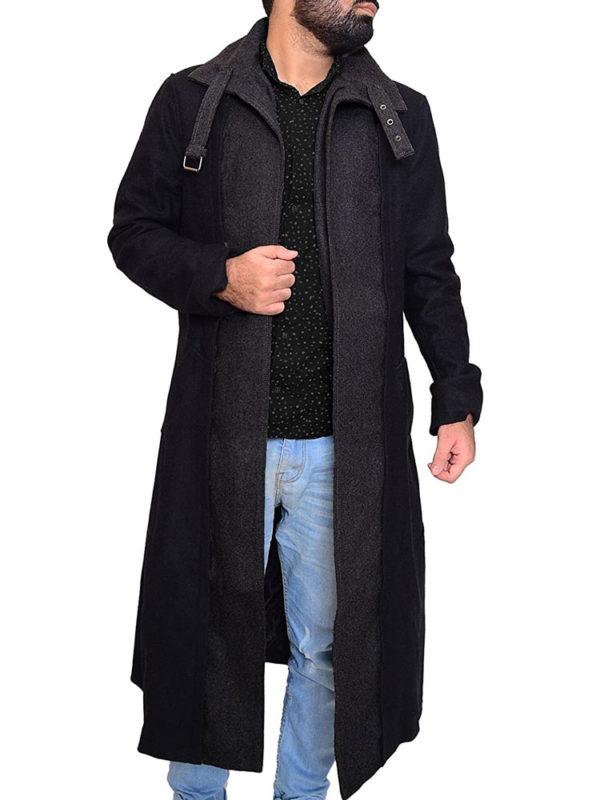 joel kinnaman altered carbon trench coat