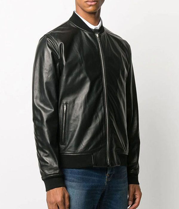 mark-wahlberg-black-leather-jacket