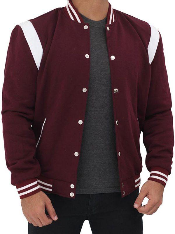 maroon-bomber-varsity-jacket
