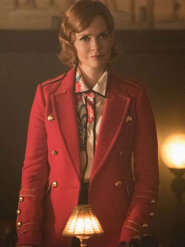 riverdale-nathalie-boltt-red-military-coat
