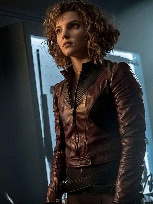 selina-kyle-burgundy-leather-jacket