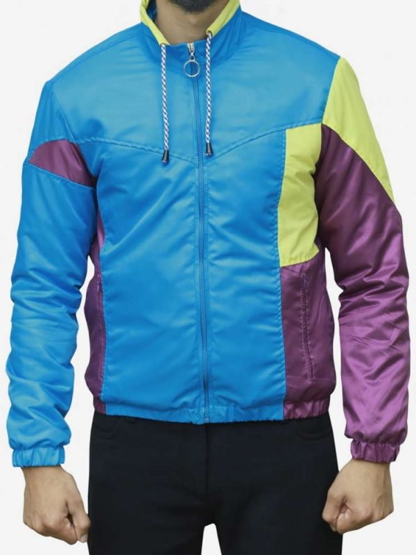 seth rogen long shot jacket