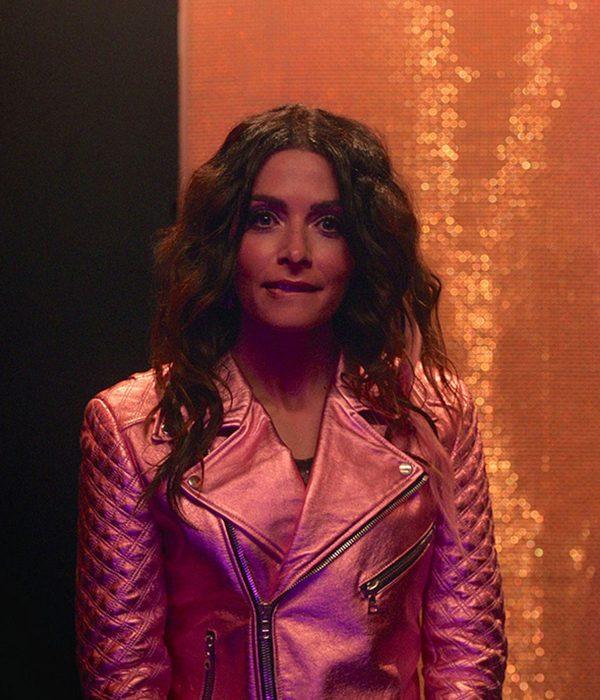 sex-life-sarah-shahi-leather-jacket