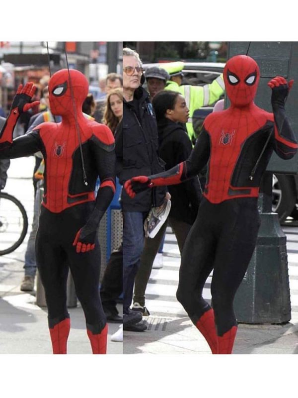 spider-man-red-leather-jacket