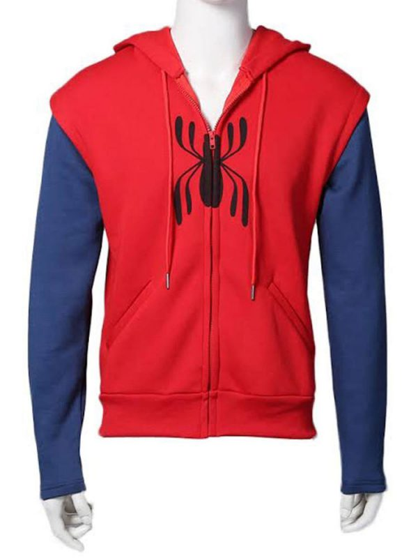 spiderman-homecoming-red-and-blue-hoodie