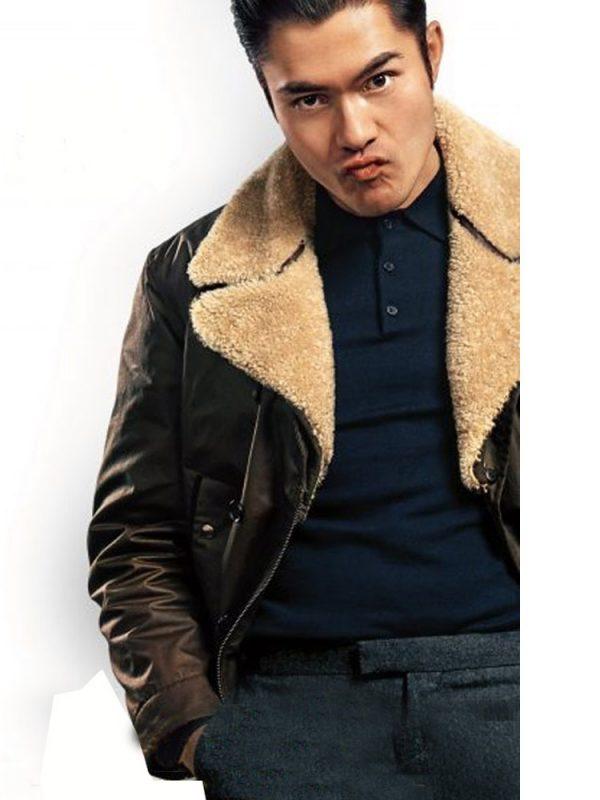 the-gentlemen-henry-golding-brown-jacket