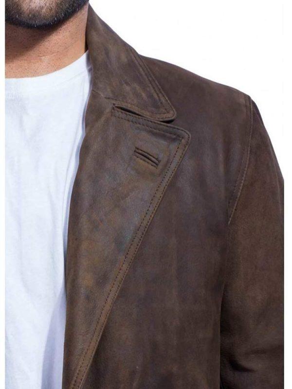 war-doctor-brown-leather-Jacket