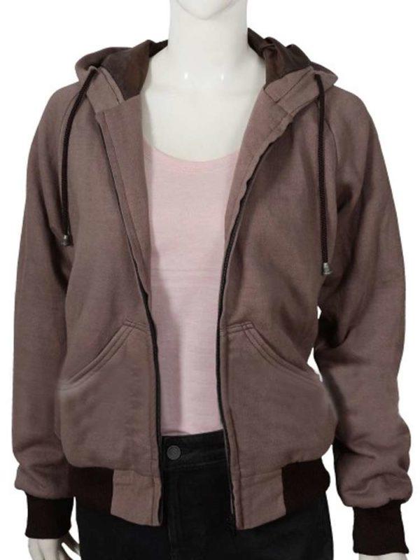 yellowstone-kelsey-asbille-brown-hoodie