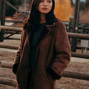 yellowstone-kelsey-asbille-coat