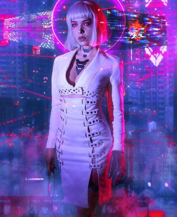 cyberpunk-night-city-neon-girl-white-leather-coat