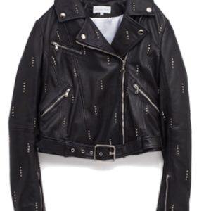 dua-lipa-studded-black-leather-jacket