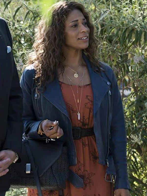 kimrie-lewis-single-parents-leather-jacket