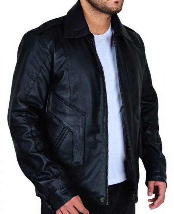 kyle-maclachlan-black-leather-jacket