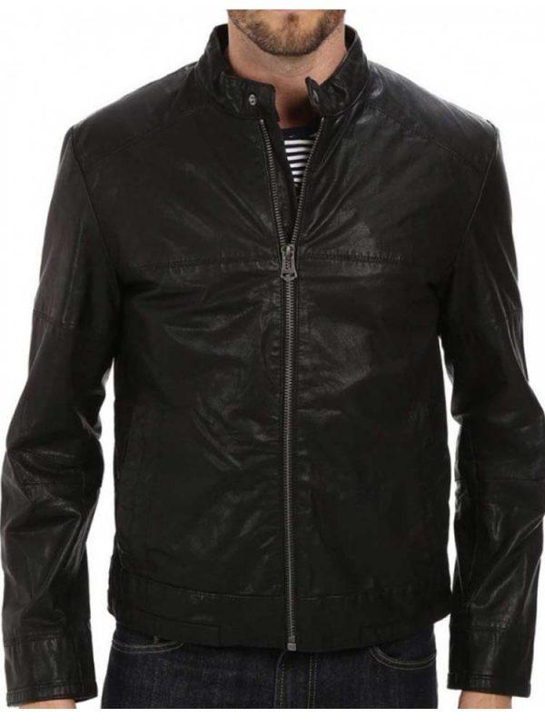 snap-tab-collar-leather-jacket