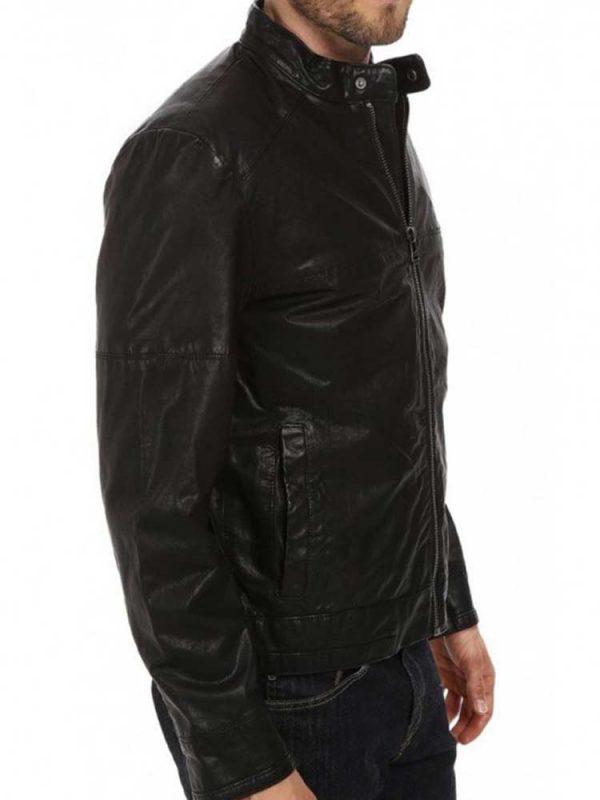 mens-front-zipper-closure-simple-leather-jacket