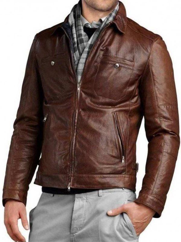 mens-shirt-slim-fit-motorcycle-jacketcollar-motorcycle-brown-genuine-leather-jacket