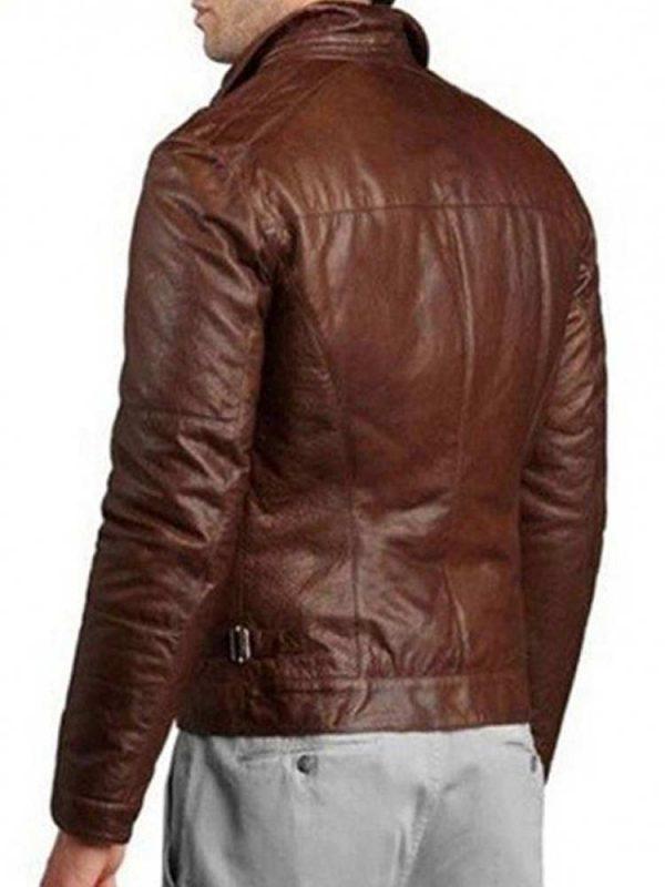 mens-shirt-collar-motorcycle-genuine-leather-jacket