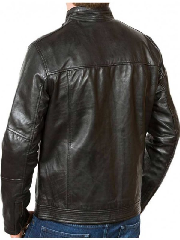 mens-simple-look-zipper-style-up-collar-leather-jacket