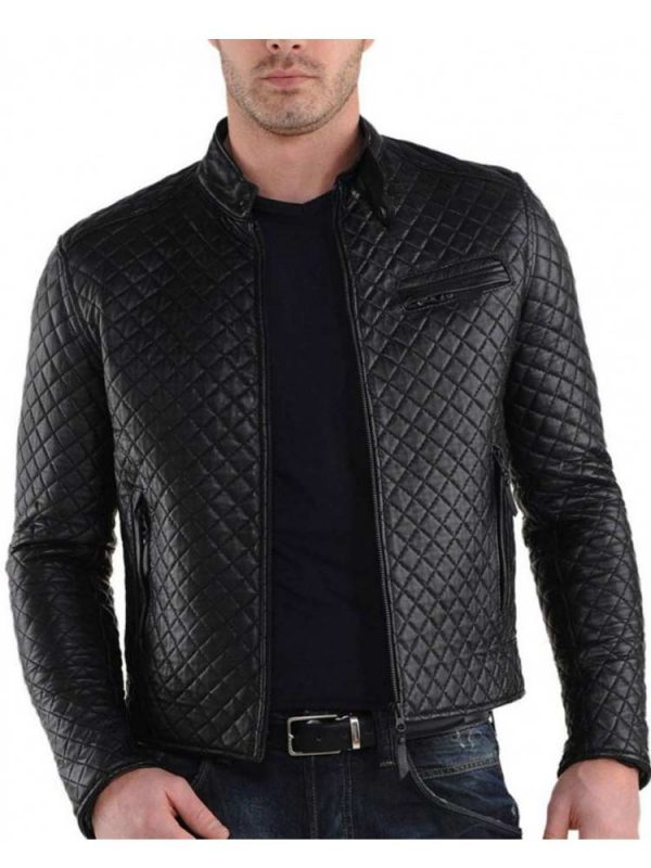 mens-slimquilted-black-leather-jacket-fit-snap-tab-collar-diamond-quilted-leather-jacket