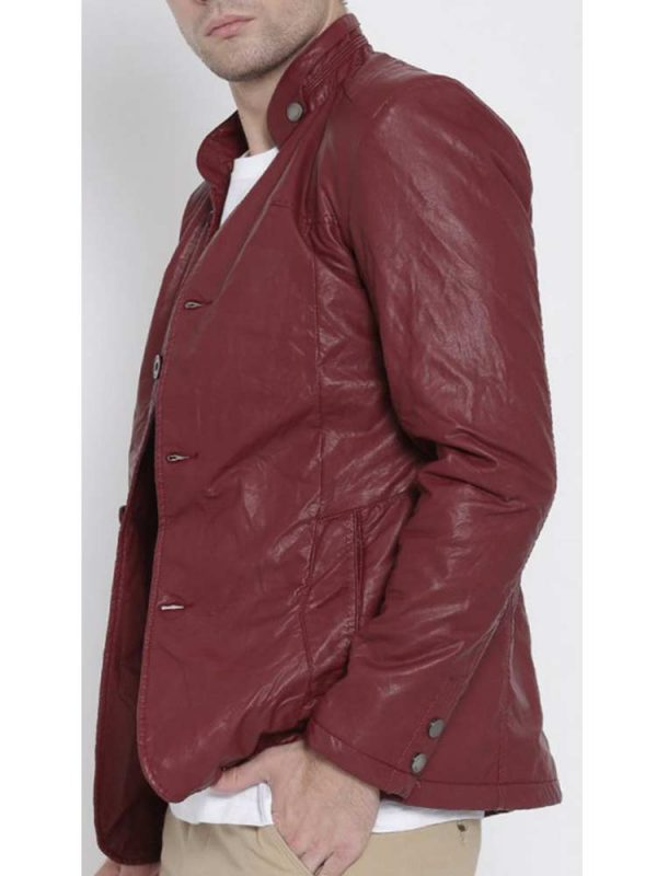 mens-stand-up-faux-leather-blazer