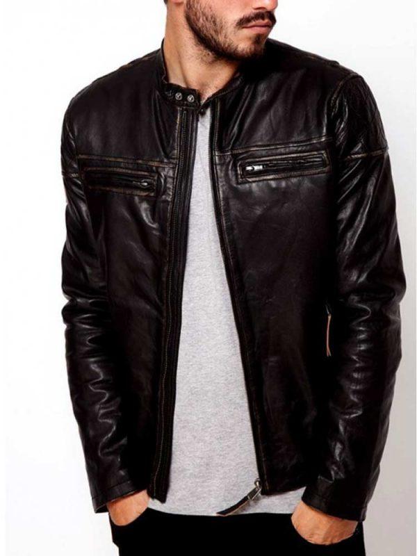 mens-dark-brown-leather-jacket