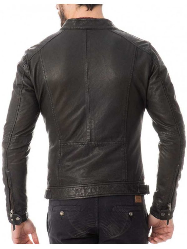 mens-zipper-pockets-casual-tab-collar-leather-jacket