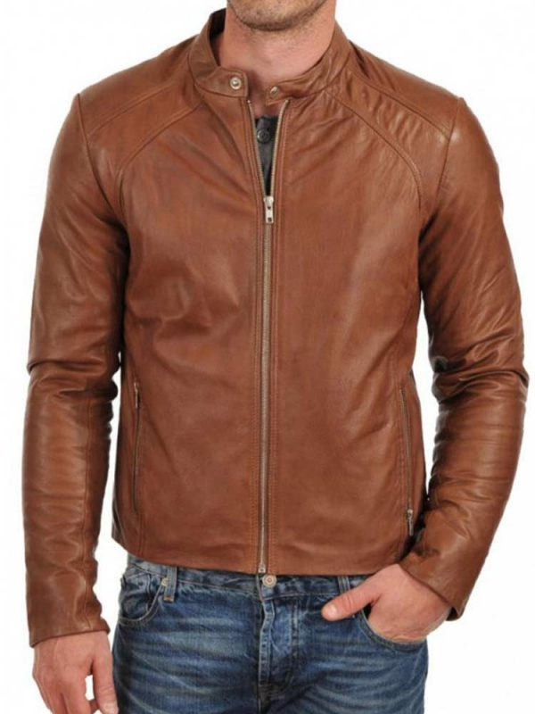 simple-brown-leather-jacket