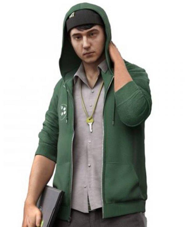watch-dogs-2-josh-sauchak-green-hoodie