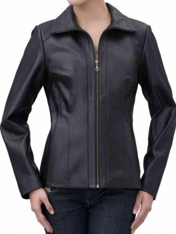 womens-shoulder-design-shirt-collar-quilted-leather-jacket