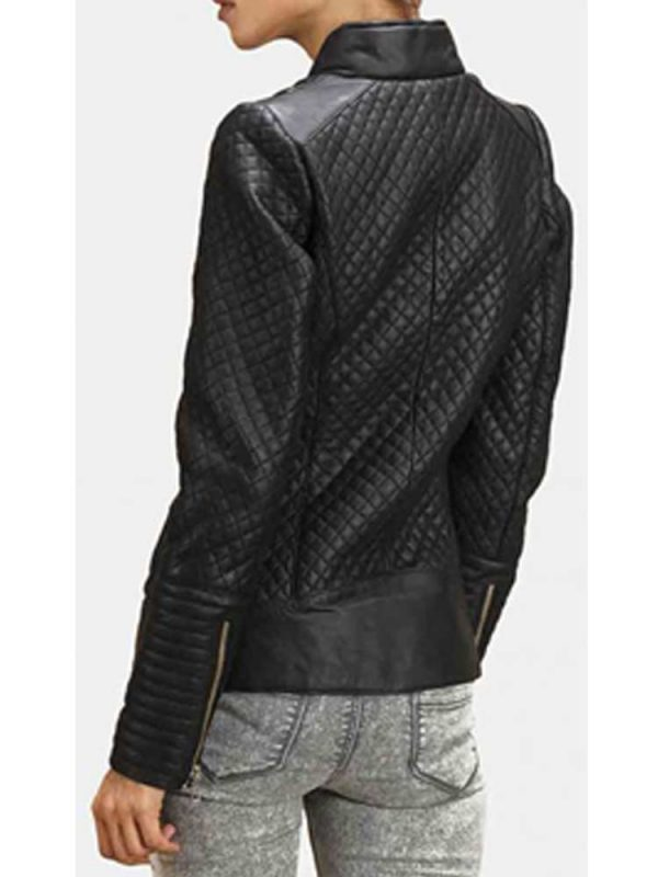 womens-stand-up-diamond-quilted-leather-jacket